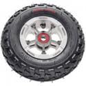 Trampa Superstar Wheels - Silver Anodised / Black