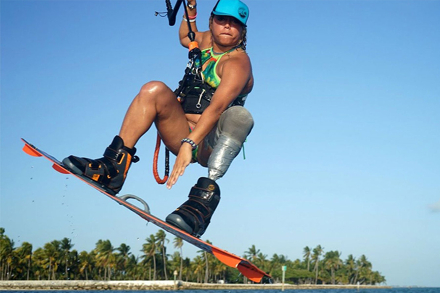 Frances Osorio Rivera Kiteboarder