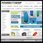A New Powerkiteshop Website