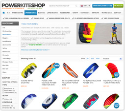 Ordering FAQ at Powerkiteshop